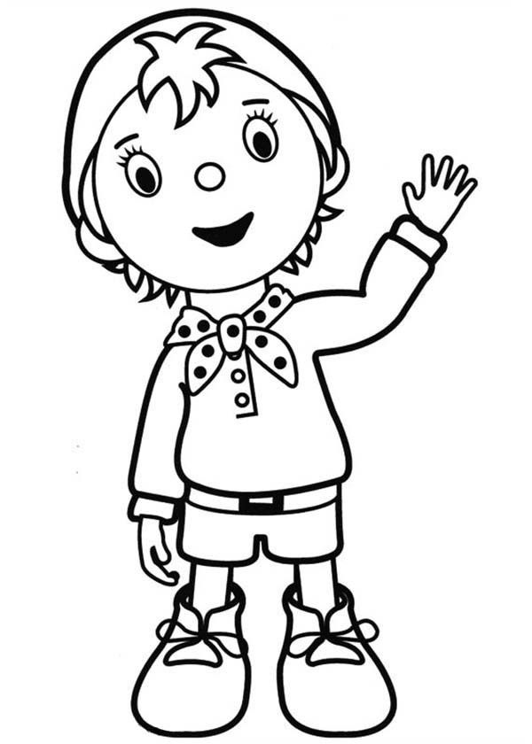 Noddy Coloring Pages - Coloring Home