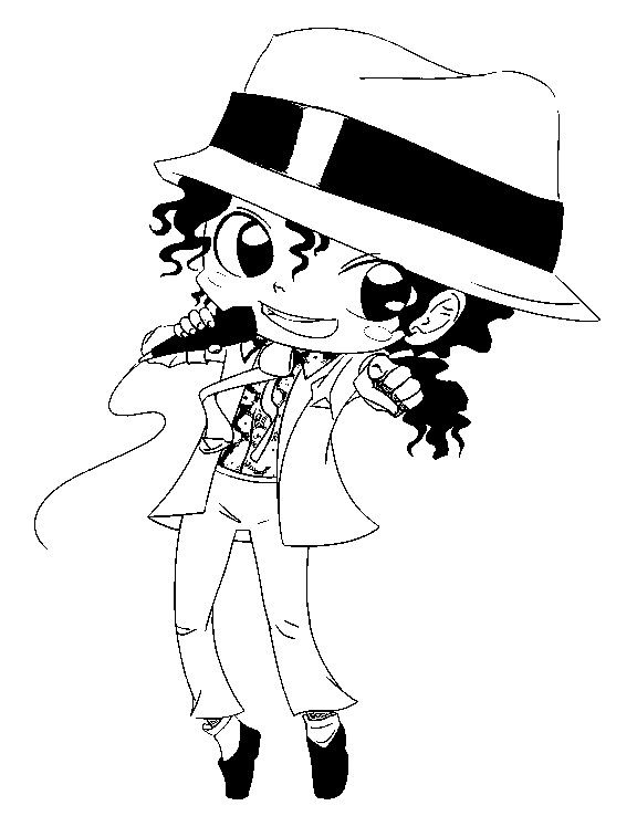 Michael jackson coloring book coloring home - Coloriage michael jackson ...