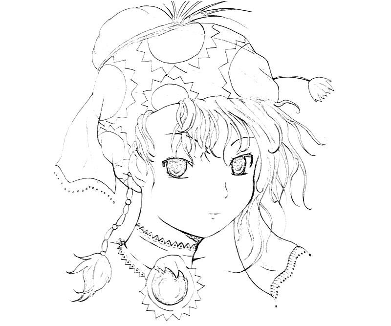 Anime Faces Coloring Pages - Coloring Pages For All Ages