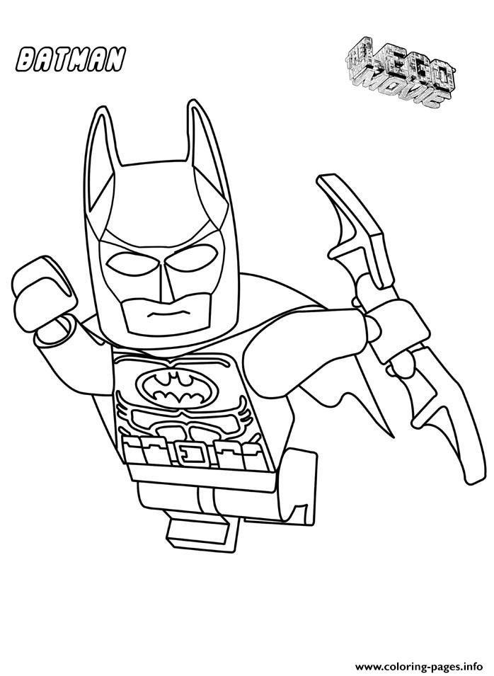 Free Printable Lego Batman Coloring