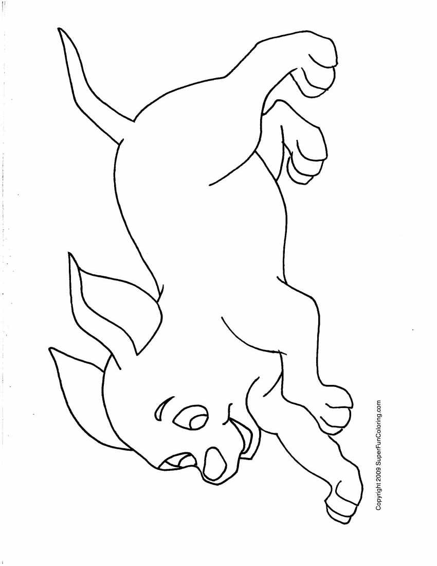 boy and dog coloring pages coloring page