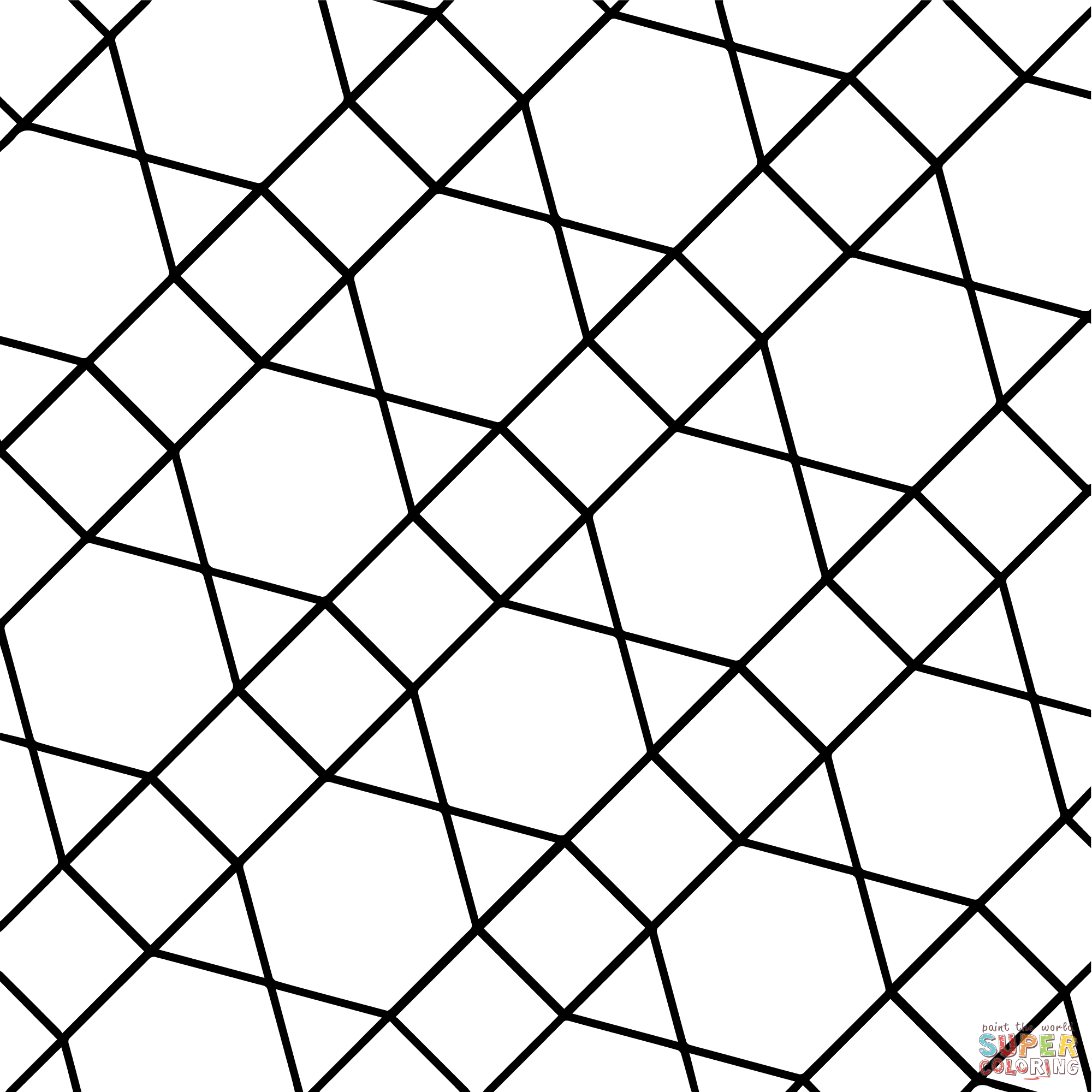 tessellations coloring pages - photo#20