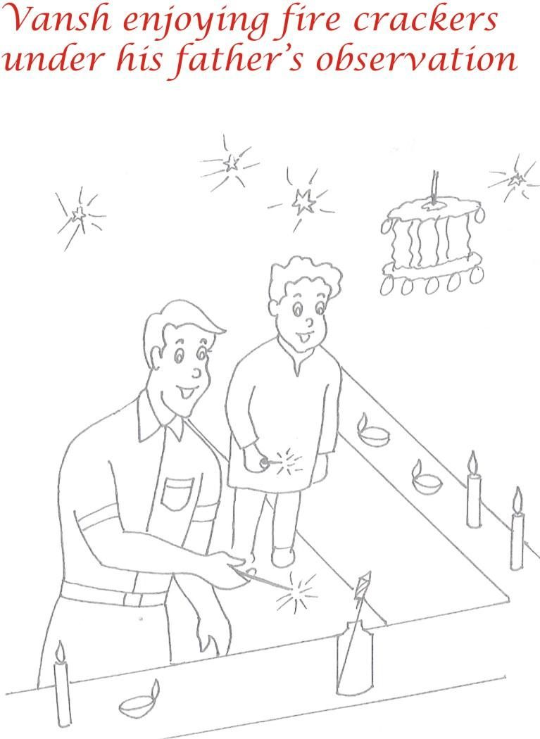 Diwali Coloring Pages | Only Coloring Pages - Coloring Home