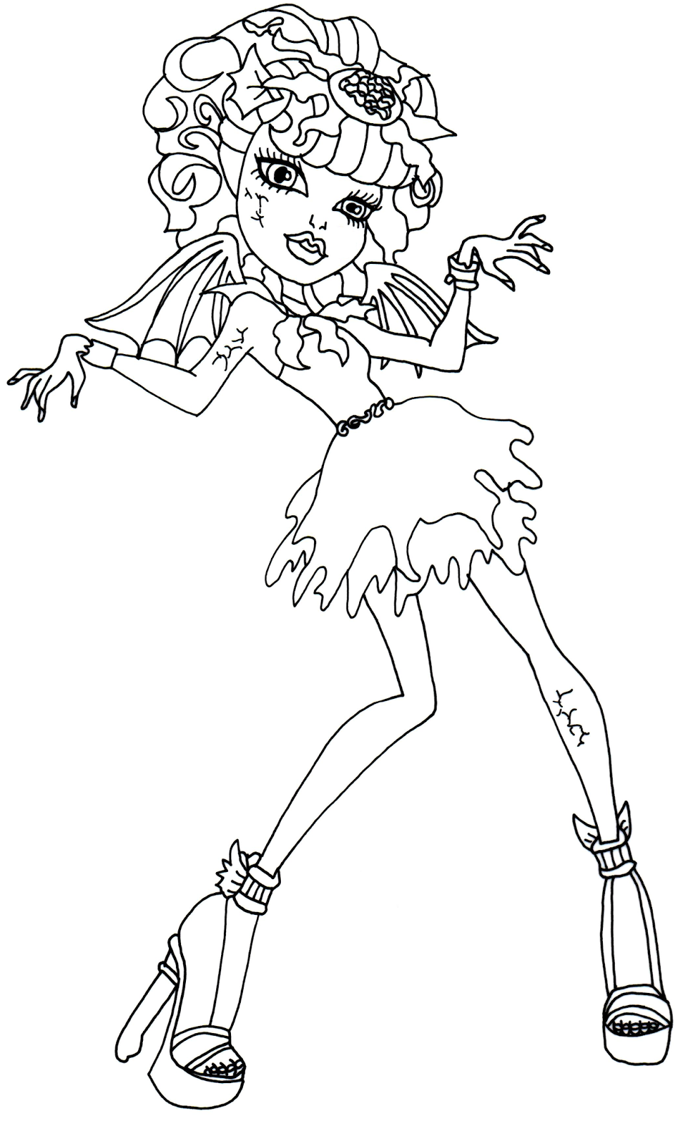 Zombie printable coloring pages coloring home for Free printable zombie coloring pages