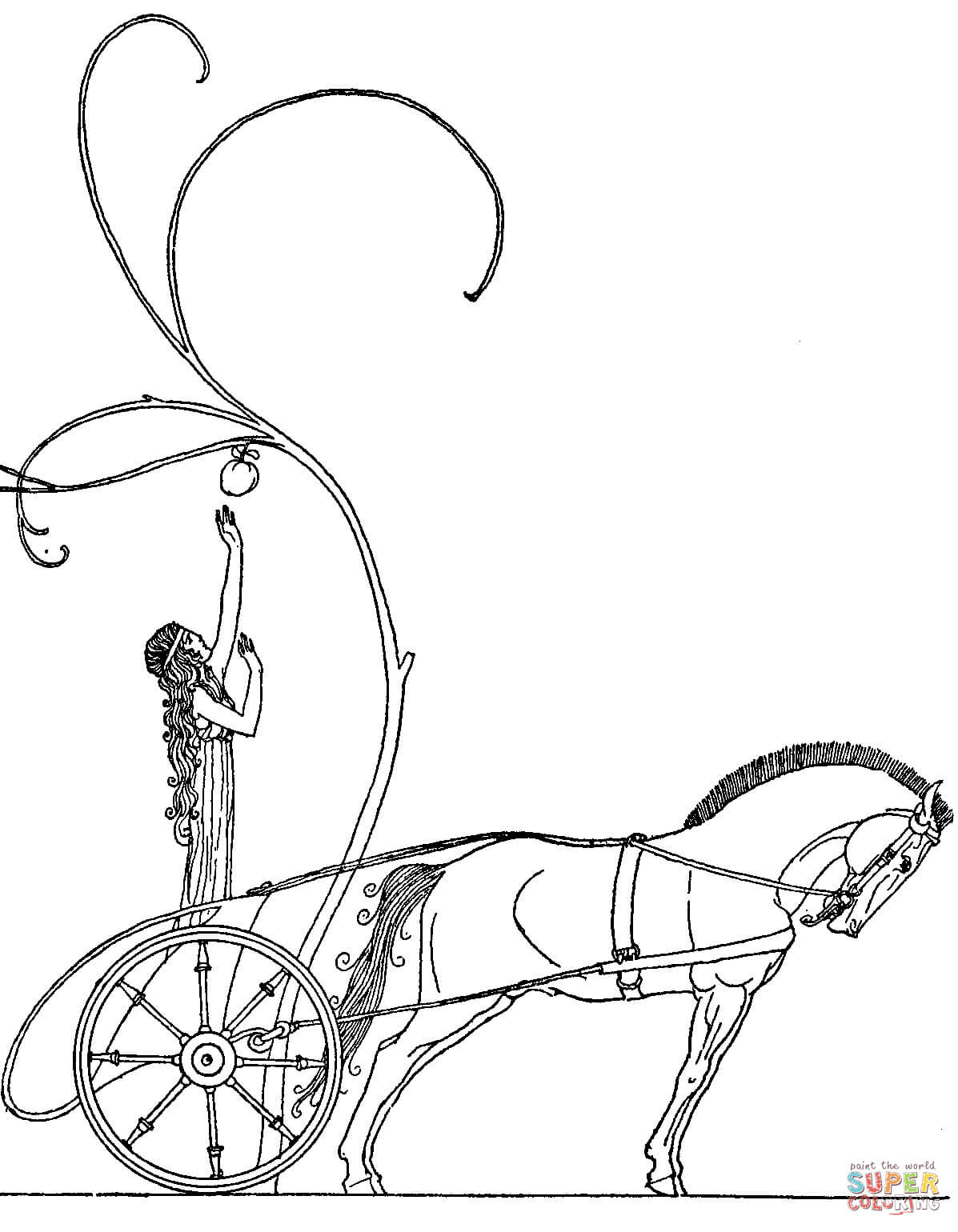 persephone coloring pages - photo #15