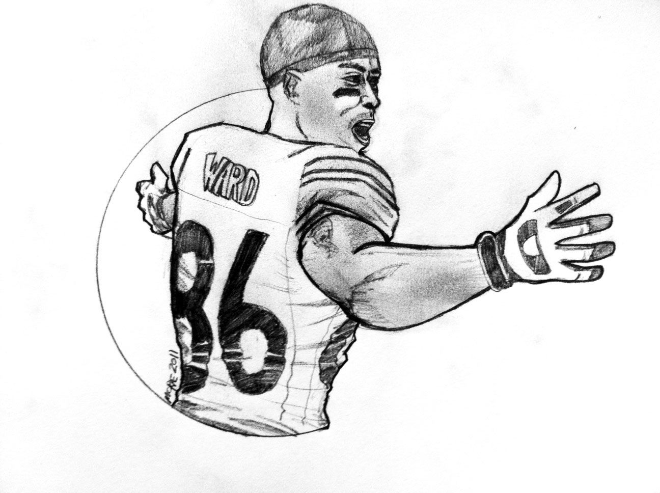 Coloring Pages Of Nfl Football Players High Quality