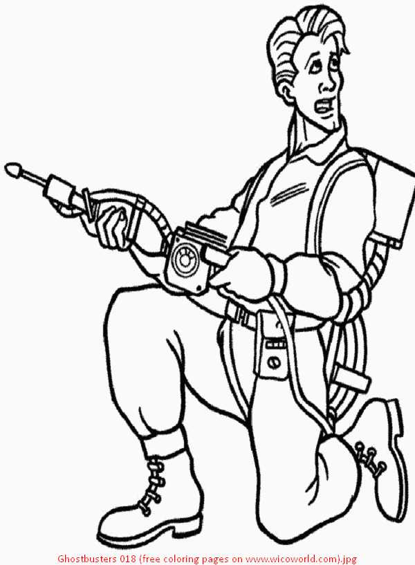real ghostbusters coloring pages - photo#22