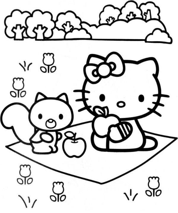 Princess Kitten Coloring Pages : Princess cat coloring page az pages