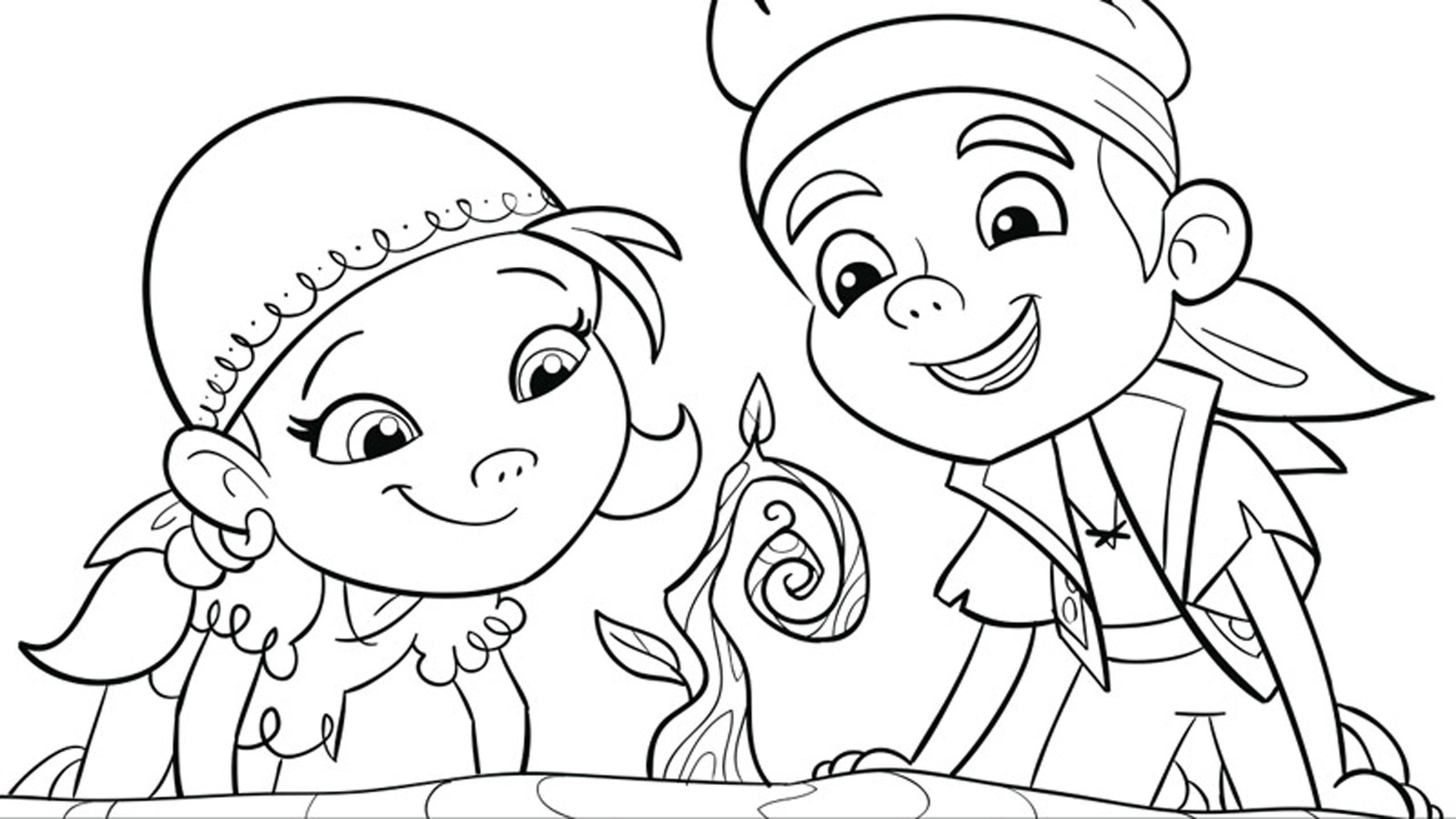 Preschool Disney Coloring Pages