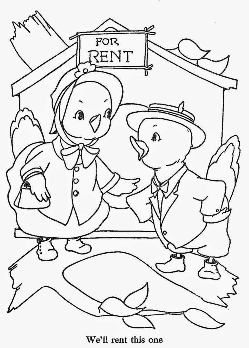 about home coloring pages - photo#12
