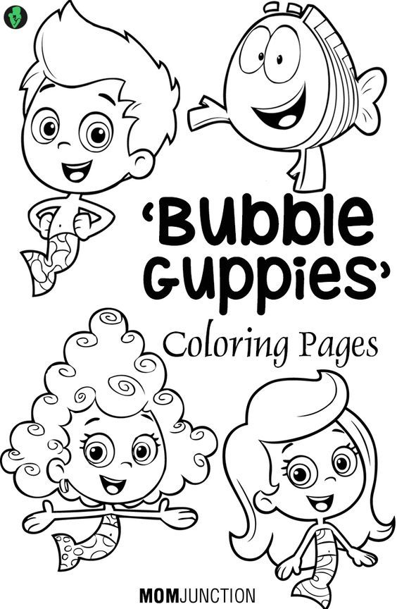 bubble guppies coloring pages oonagh - photo#24