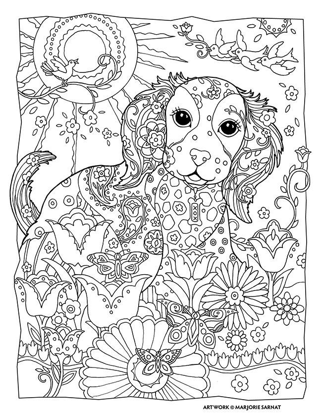 Art Therapy 4 Coloring For Adults Mandala Coloring Coloring