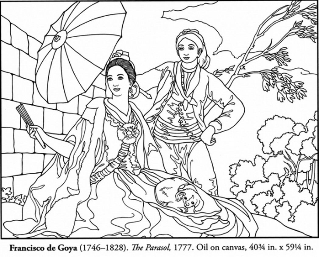 Coloring pages in spanish - Spanish Coloring Pages Free Coloring Page