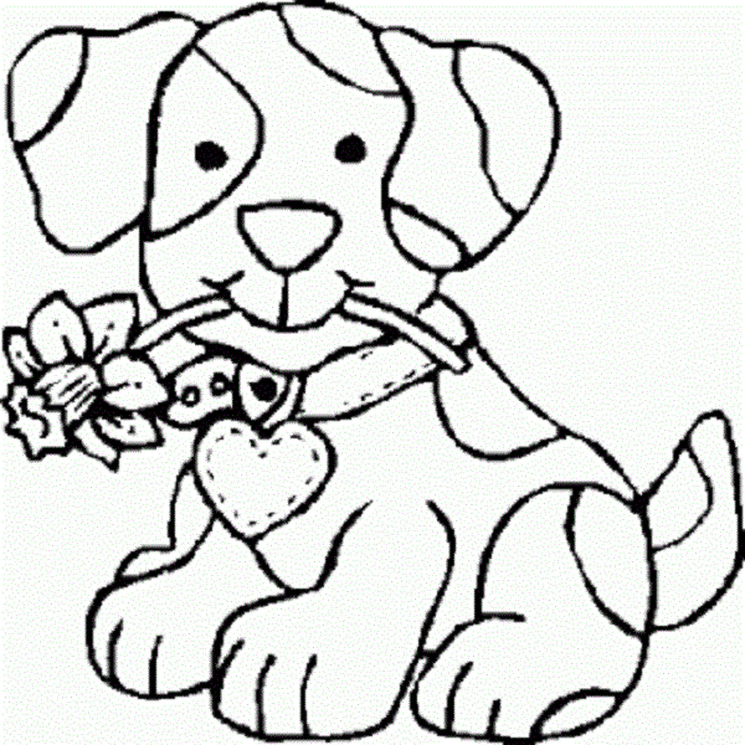 cute dog coloring pages for girls gallery of free printable color - Cute Dog Printable Coloring Pages