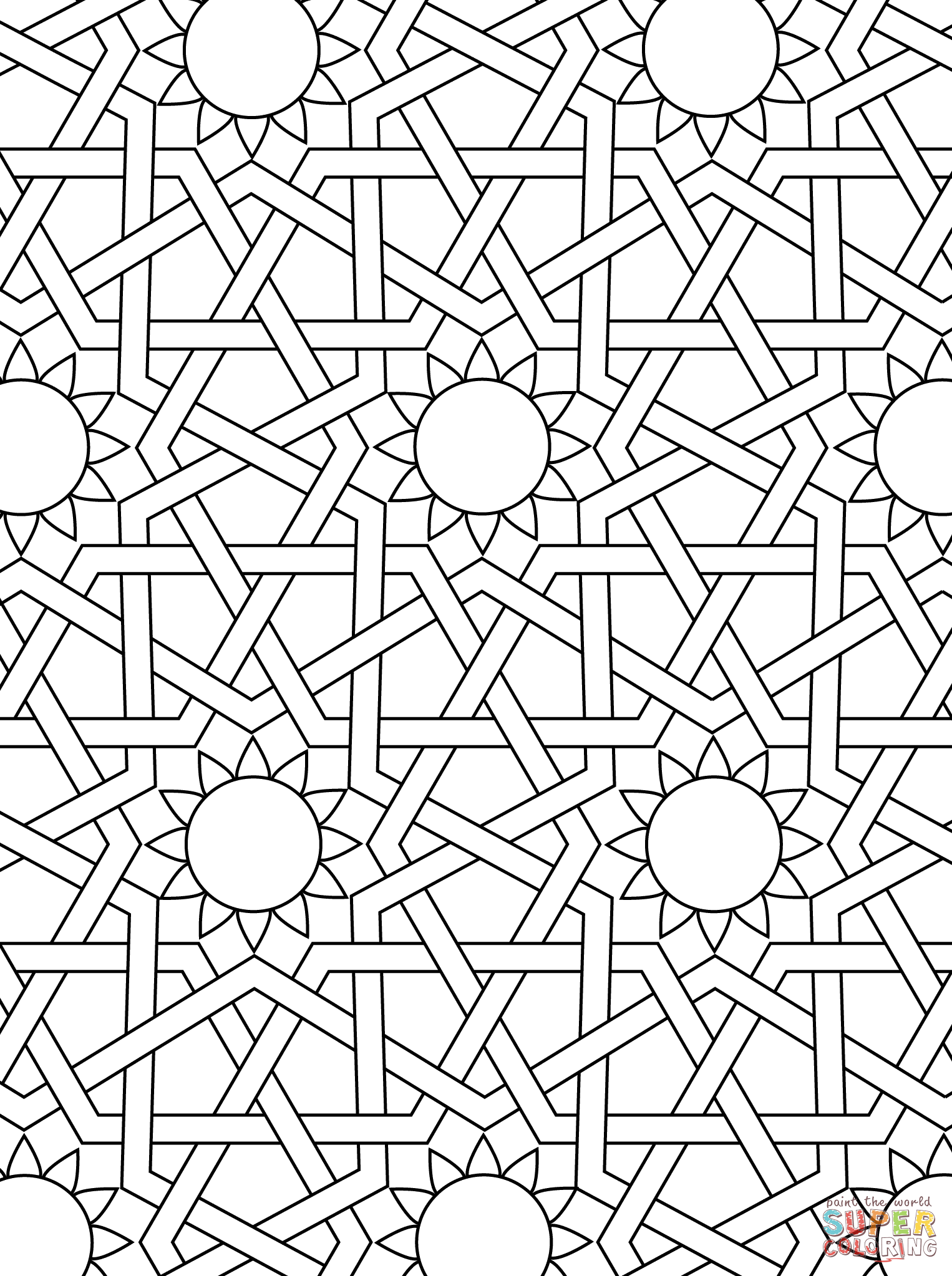Coloring Pages Mosaic Color Pages mosaic patterns coloring pages az related post from printable for free all