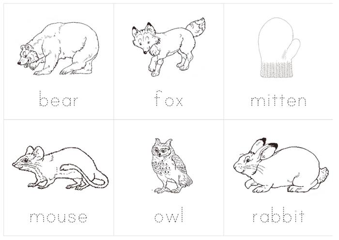 Jan Brett The Mitten Coloring Page Coloring Home