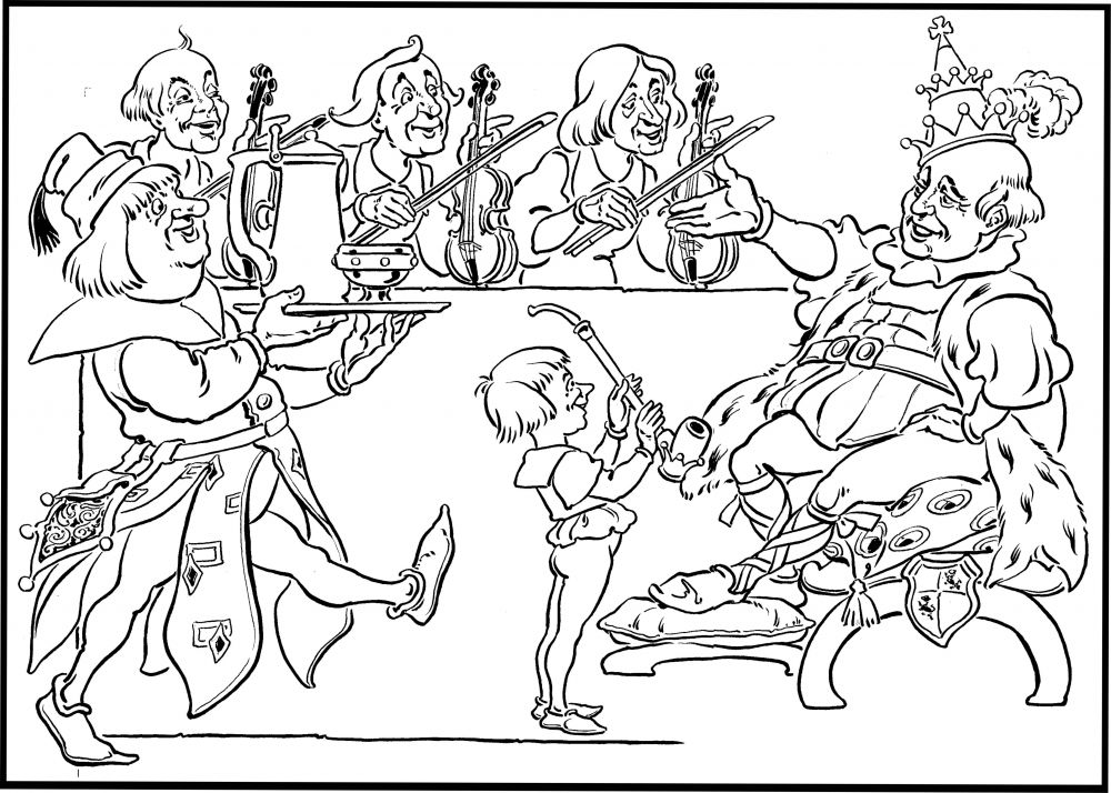 old king cole coloring page old king cole coloring page coloring home