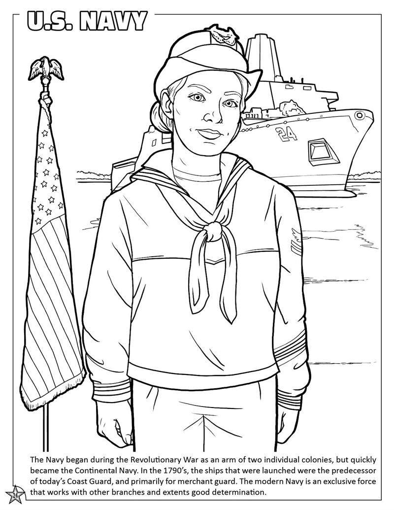 Marine Coloring Page Coloring Home Marine Coloring Page