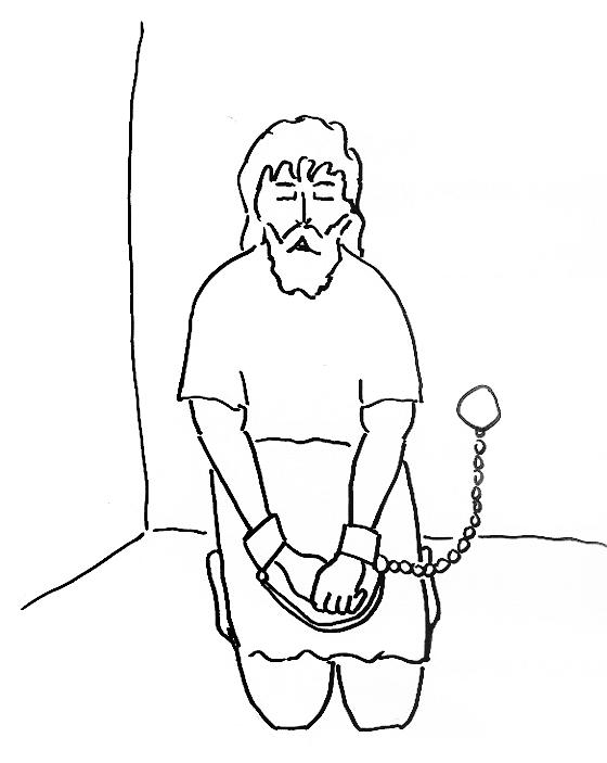 Bible Coloring Pages Paul In Prison