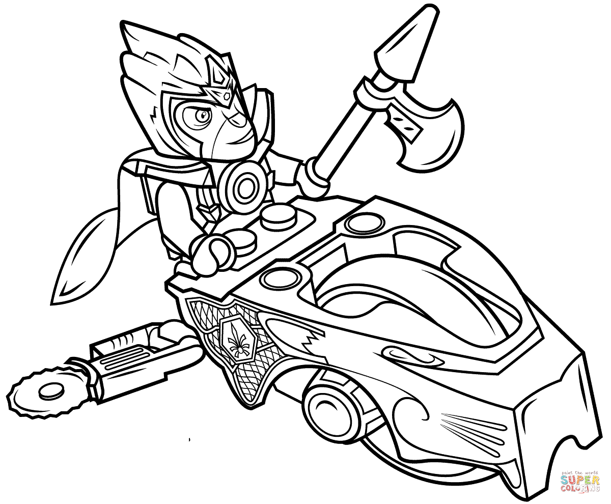 lego chima coloring pages - photo#9