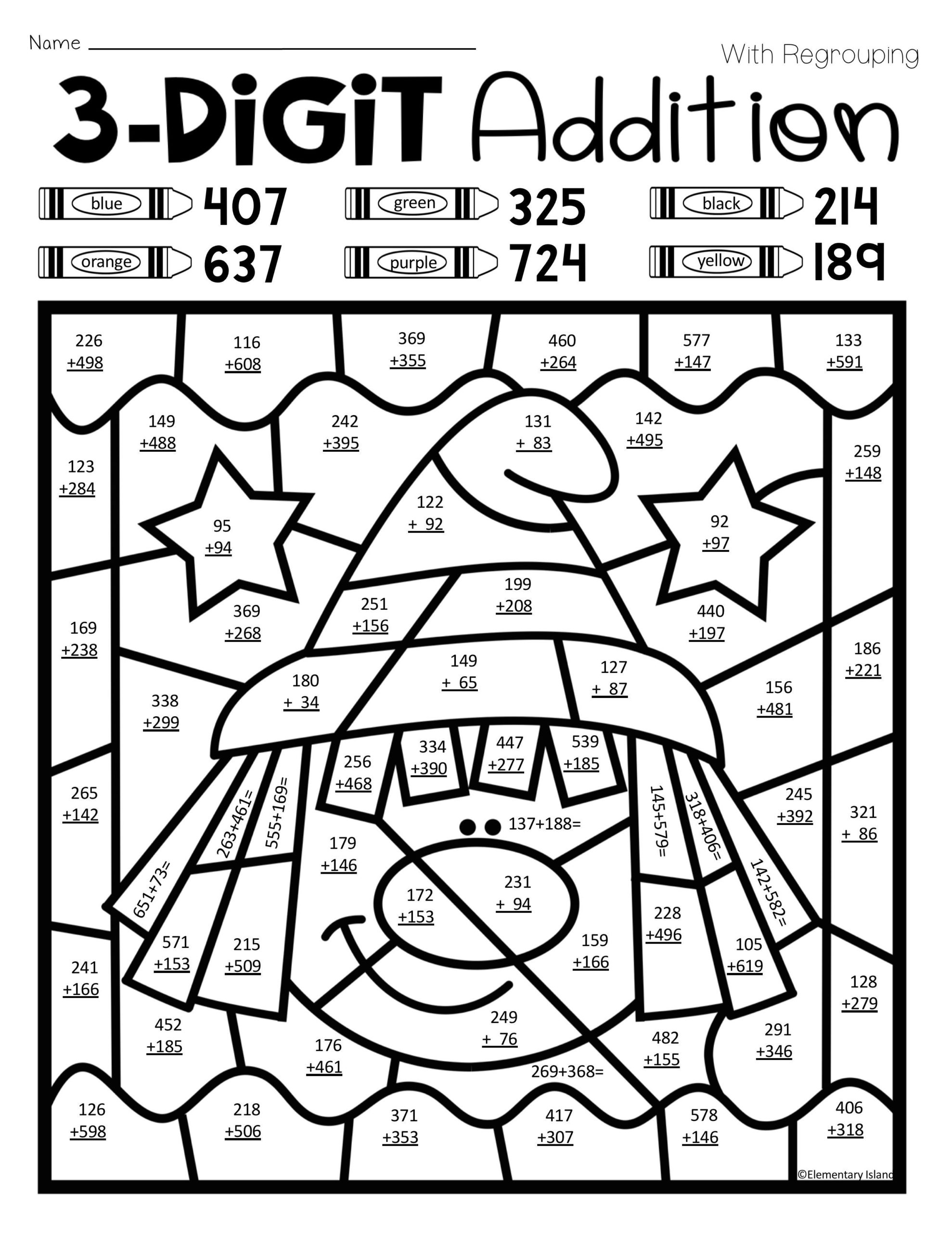 Math Sheets Coloring Pages Coloring Home