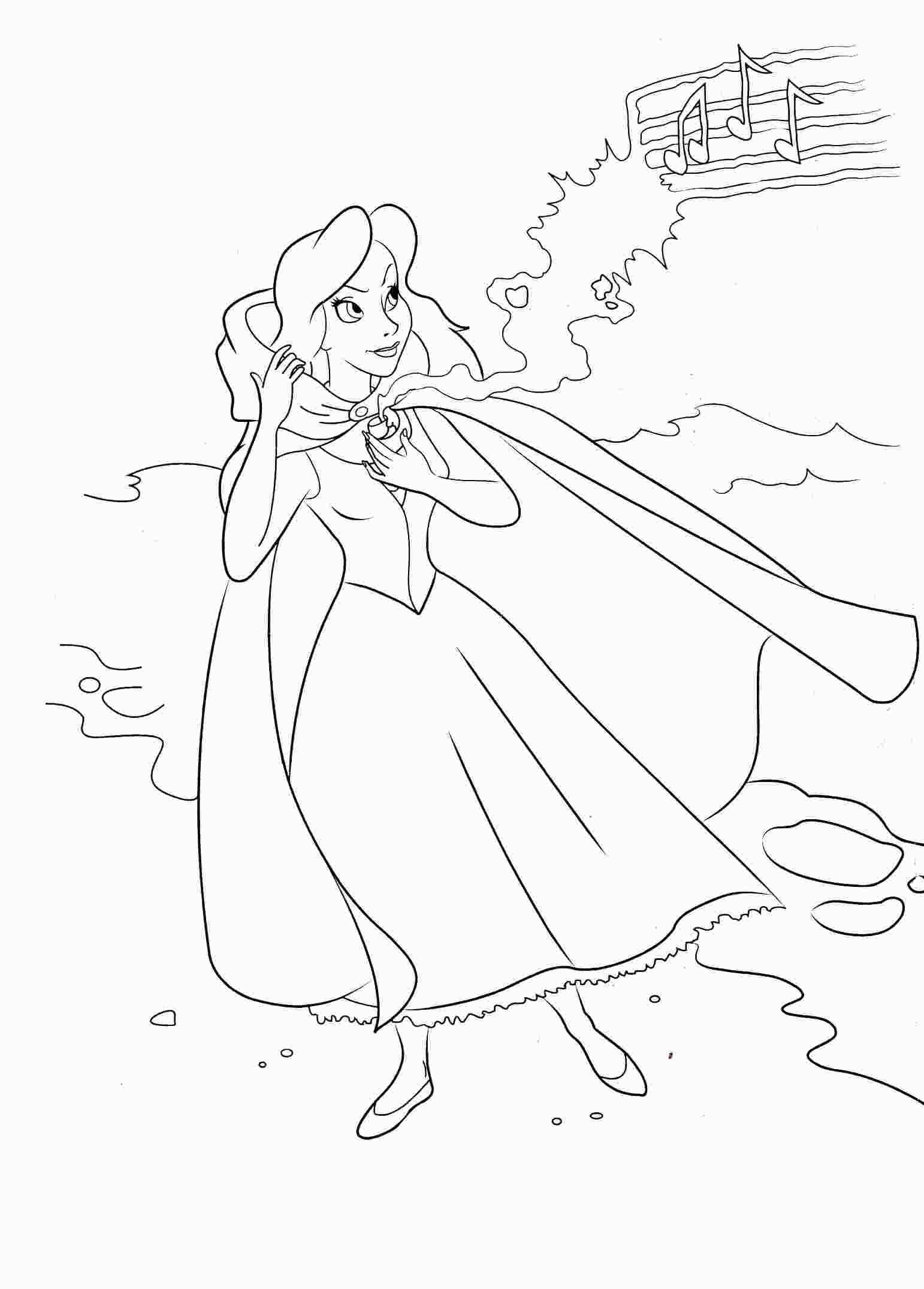 The Little Mermaid Coloring Pages Tag: 31 Stunning Mermaid ... | 2151x1542