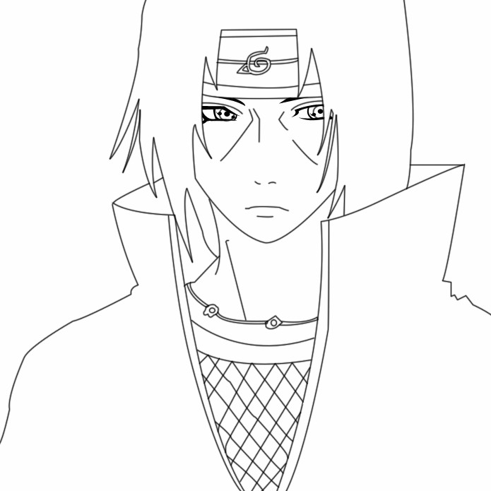 28+ Itachi Uchiha Drawing Outline Pictures