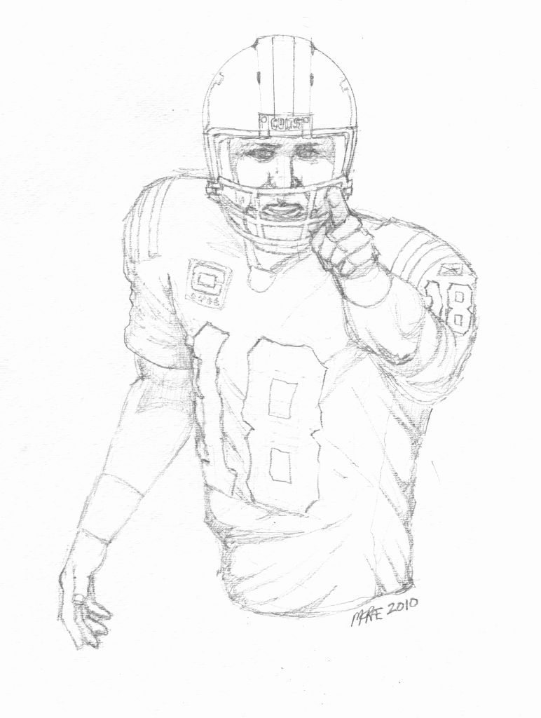 Adult. Cute Peyton Manning Coloring Pages Gallery Images. Dashah ...