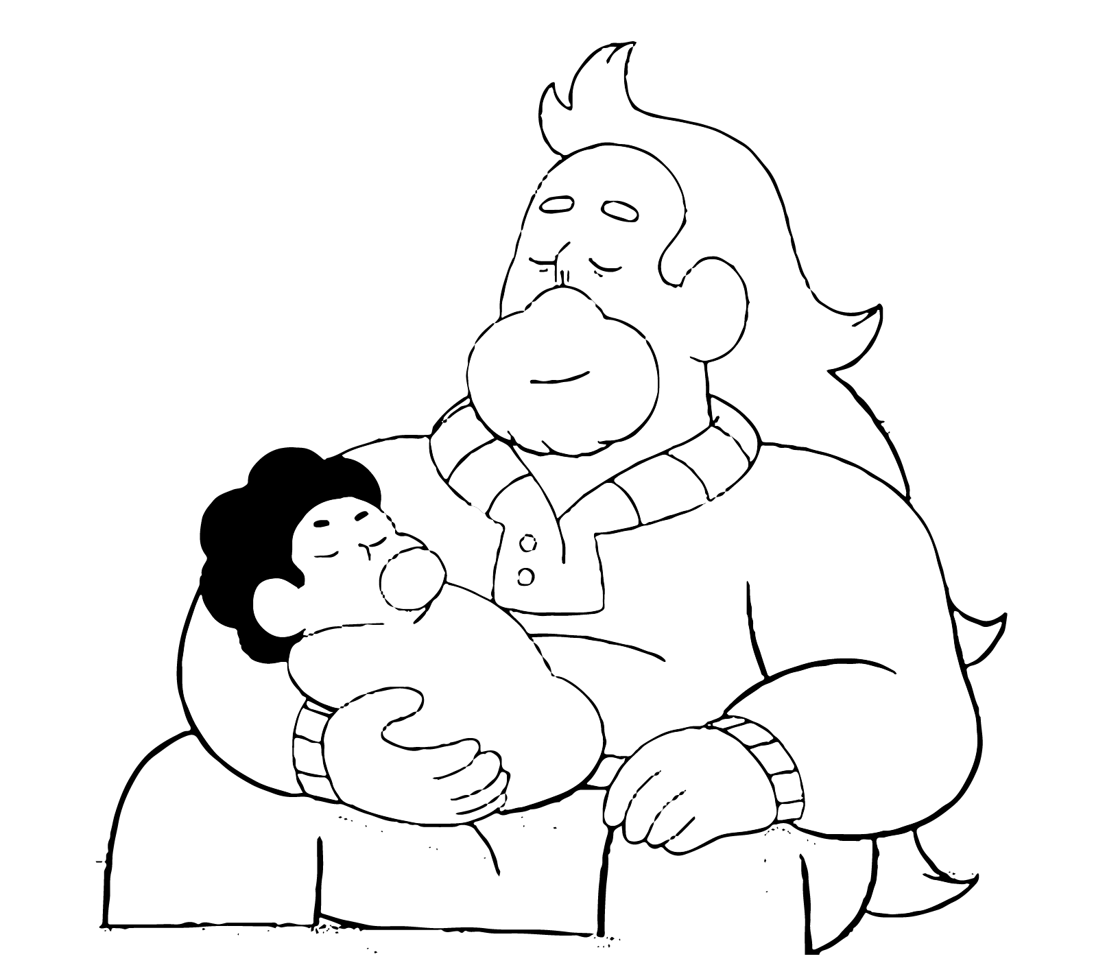 Happy Father's Day! Greg and Baby Steven … - stevenuniverse