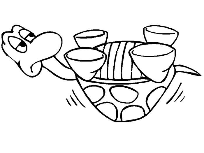 Yertle The Turtle Coloring Pages - Coloring Home