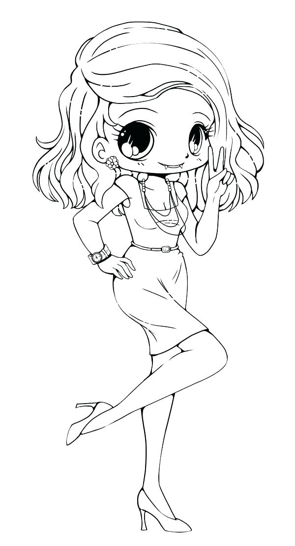 Pin by Emily Opay on Coloring pages   Chibi coloring pages ...   1108x600