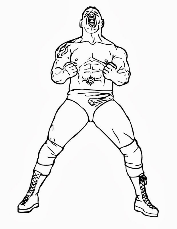 WWE Coloring Pages Wwe Coloring Pages Dx Kids Coloring Pages