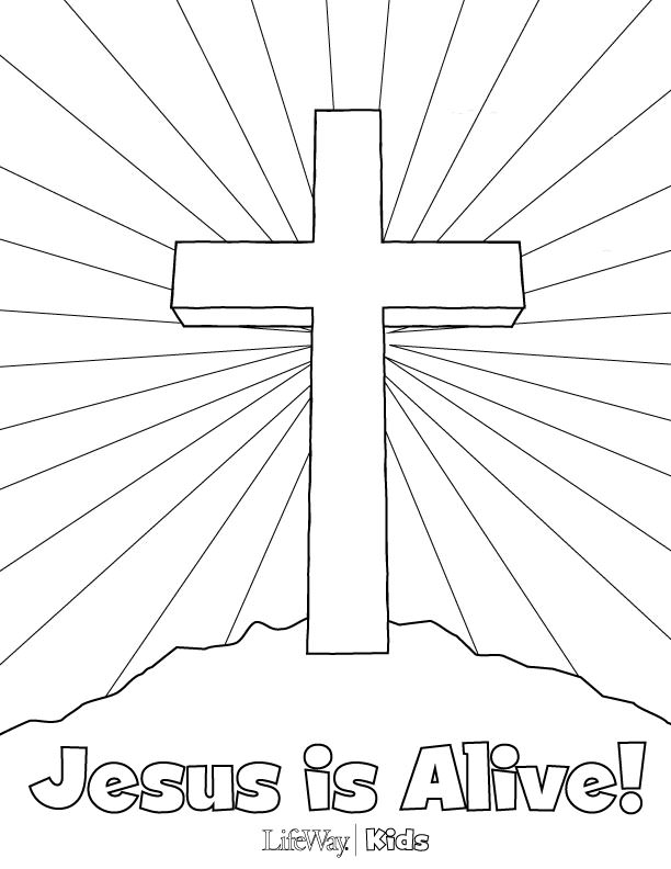 free coloring pages about jesus - photo#35