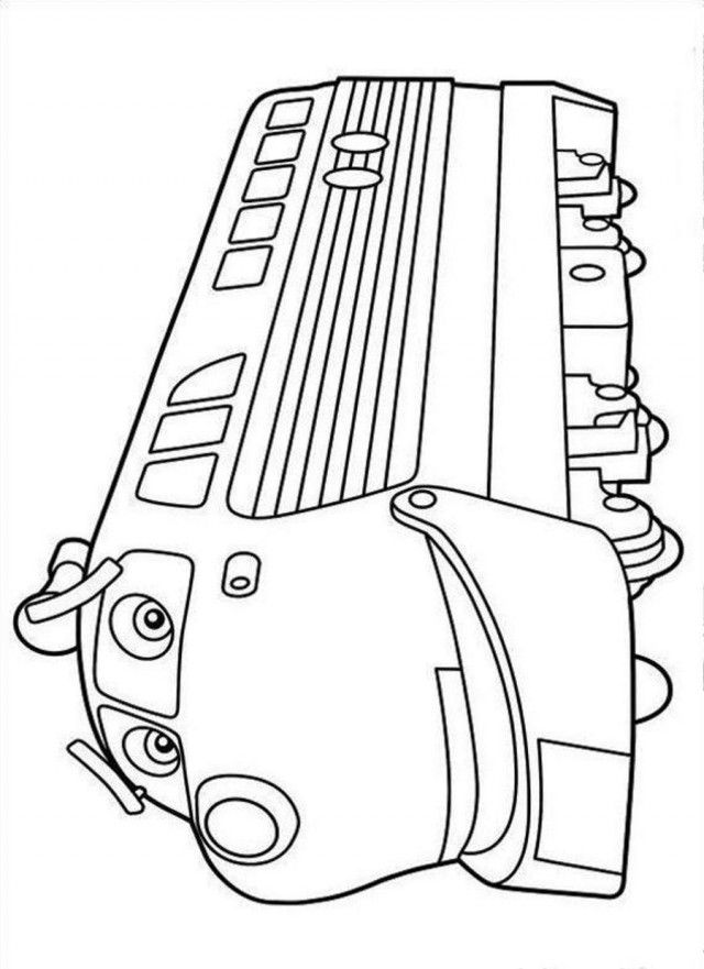 Print Or Download Chuggington Free Printable Coloring Pages No 23
