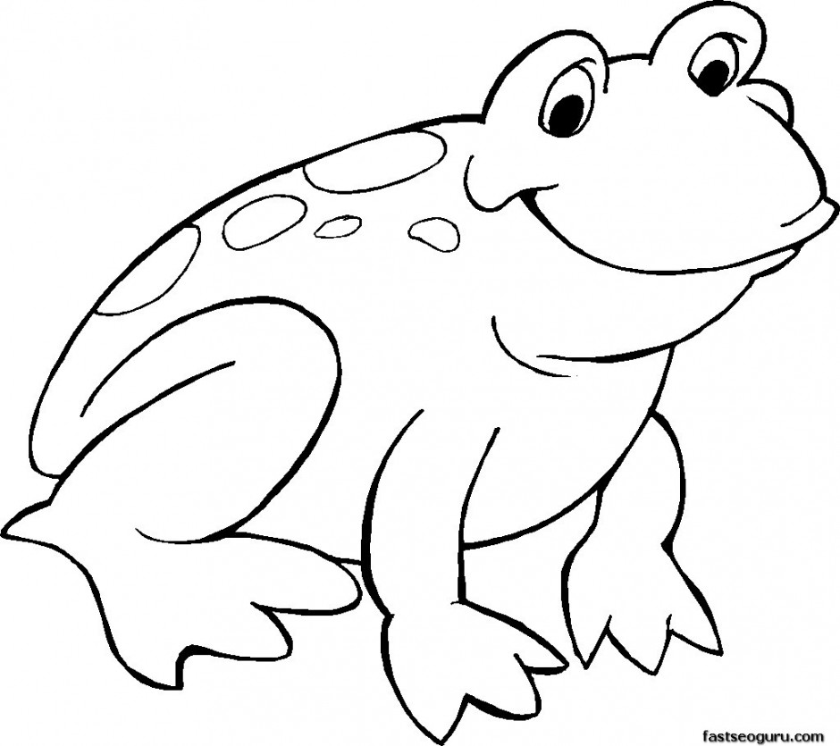 tadpole coloring pages - photo #31