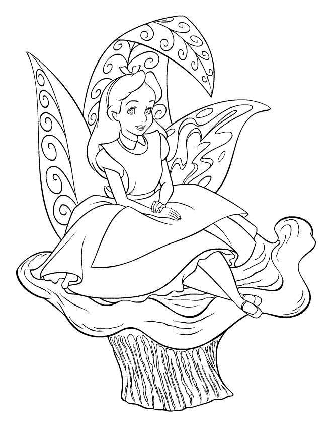 Cute Girl Coloring Pages | download free printable coloring pages