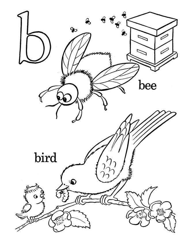 Alphabet Coloring Pages For Preschoolers Free : Alphabet coloring pages for preschoolers home
