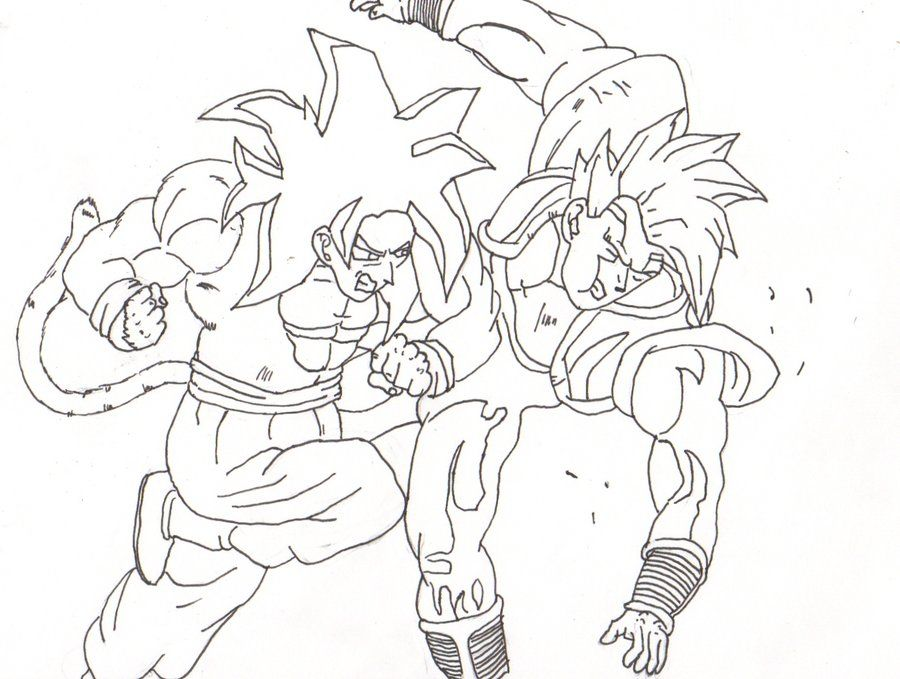 goku coloring pages : Printable Coloring Sheet ~ Anbu Coloring
