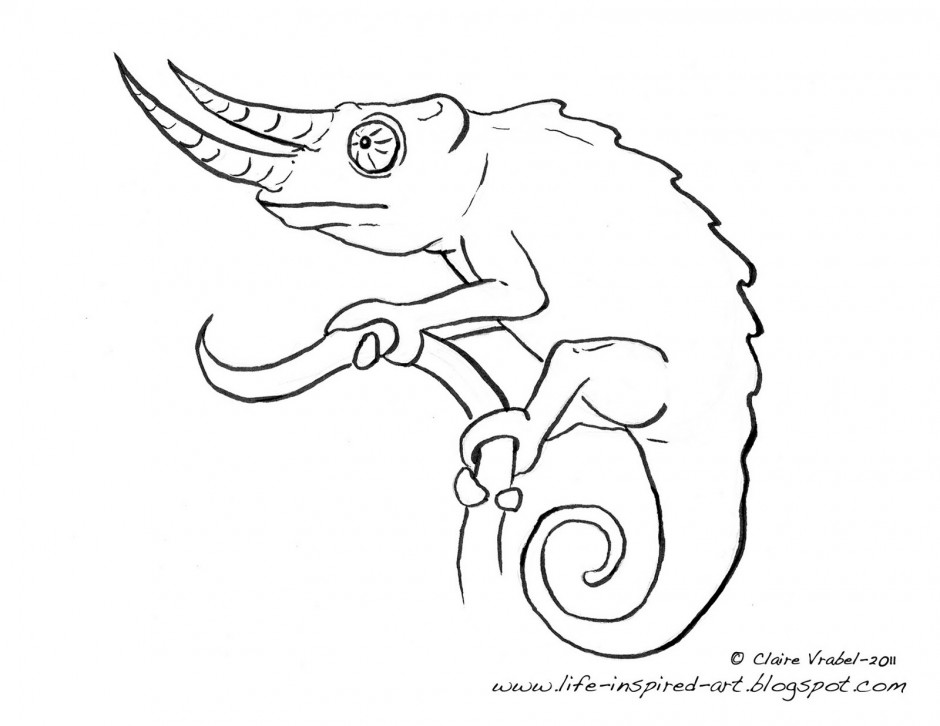 Chameleon Coloring Pages Az Coloring Pages Chameleon Coloring Page