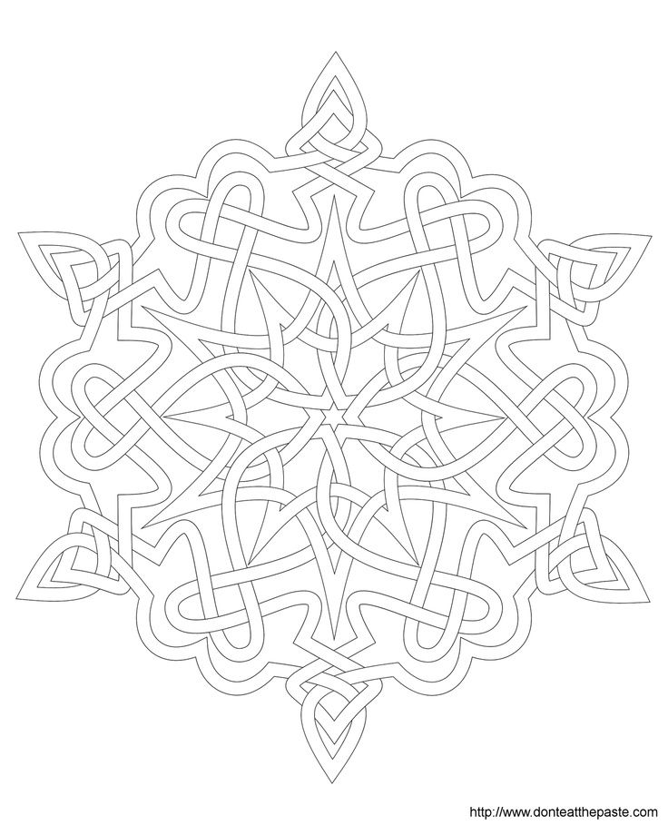 snowflake coloring page frozen blanket coloring home