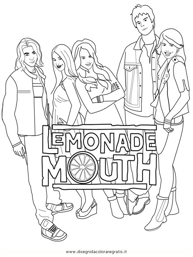 Lemonade Coloring Pages