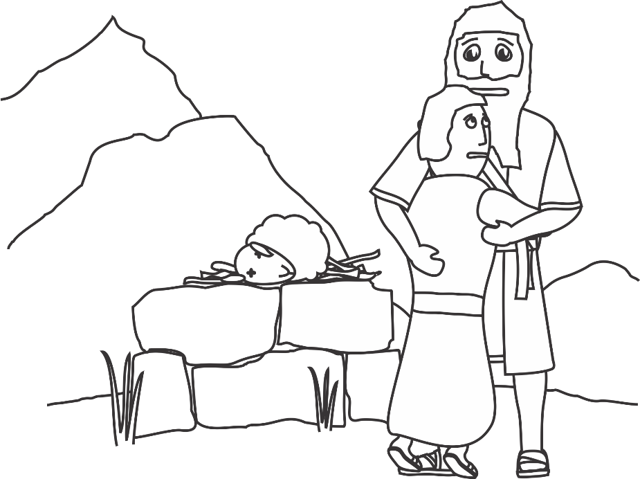Free Coloring Pages Of Abraham And Sarah With Abraham And Coloring Pages
