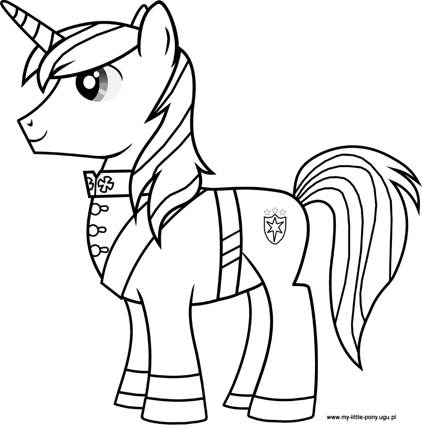My Little Pony Shining Armour Coloring Pages : Princess cadence coloring pages az