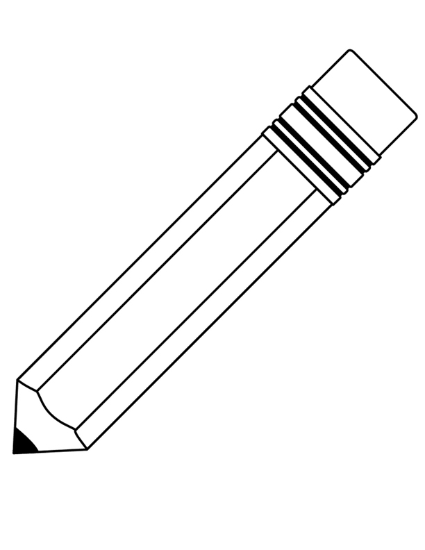 This is a graphic of Canny Pencil Template Printable