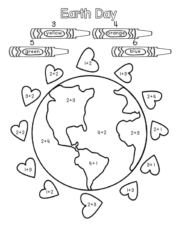 Earth Day Coloring Pages Pdf : Earth day activity sheets az coloring pages