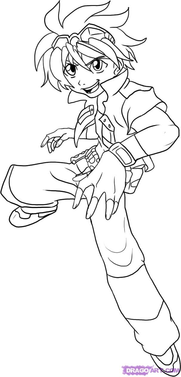 bakugan new vestroia coloring pages  coloring home
