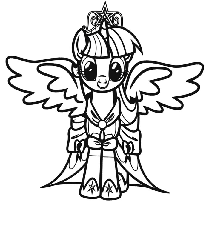 My Little Pony Giant Coloring Pages : Free my little pony coloring pages az
