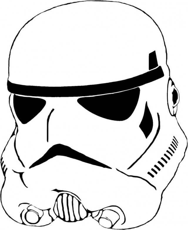first order stormtrooper coloring pages - photo#28