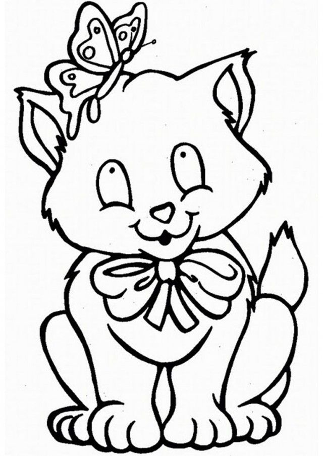 Cute Baby Animal Colouring In Pages : Cute baby animal coloring pageszoo pages babies