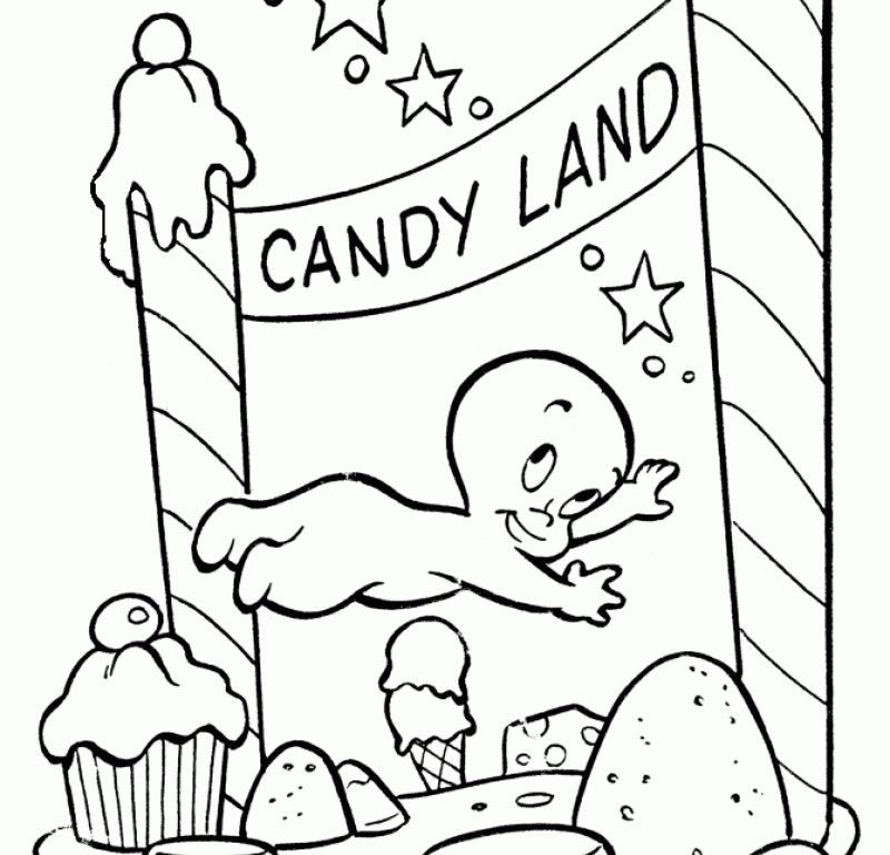 candyland castle coloring pages free - photo#20
